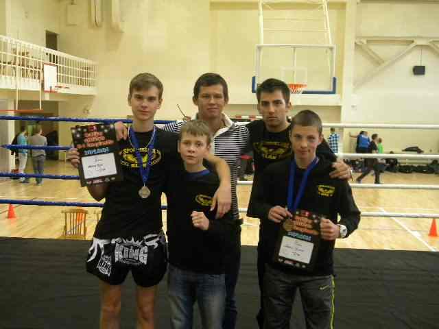 Maksim Popov, Maksim Ivanov, Baltic Cup K-1 Riga