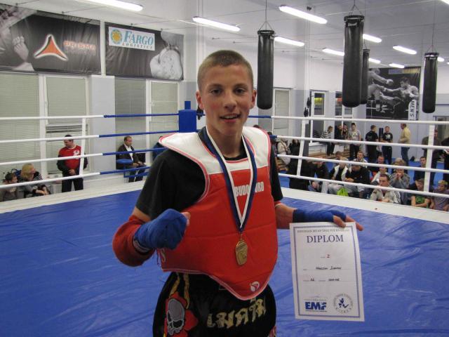 Максим Иванов, Чемпион EST MUAY THAI OPEN 2011